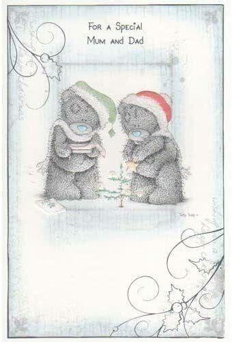 Tatty Teddy Cartes de Noël de nombreuses options