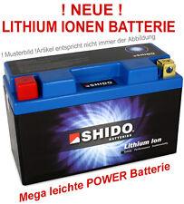batería Ion de litio SHIDO YTX9-BS Motocicleta la 12V YTX9 BS