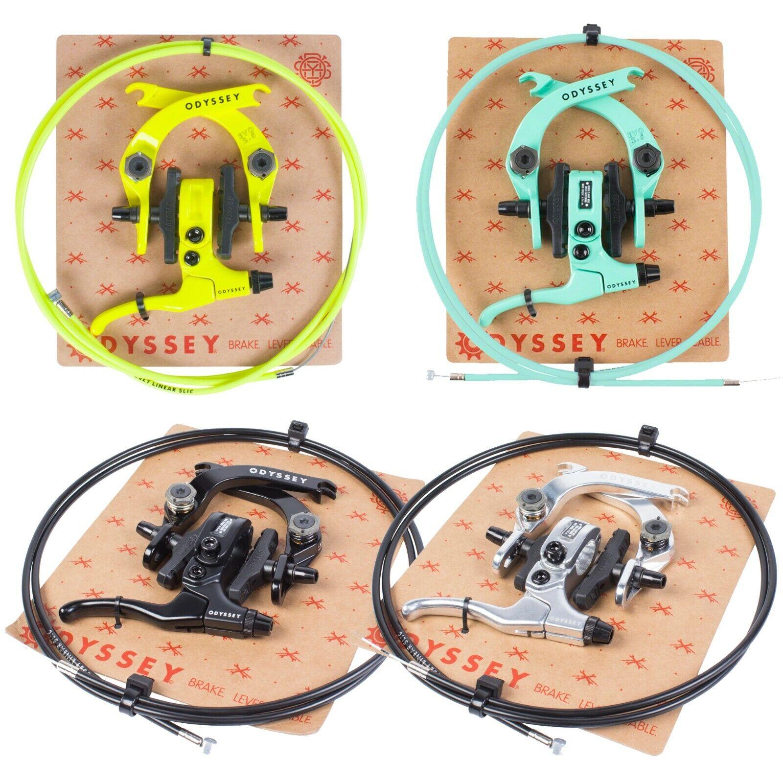 ODYSSEY BMX BIKE EVO 2.5 BICYCLE U-BRAKE KIT schwarz POLISHED Gelb TOOTHPASTE