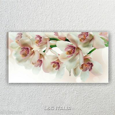 Orchidee rosa zen 2 QUADRO MODERNO QUADRI MODERNI ARREDAMENTO CASA STAMPA TELA
