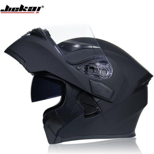 Flip Up Motorcycle Helmet Modular DOT Helmets Sun Visor Safety Racing Full Face
