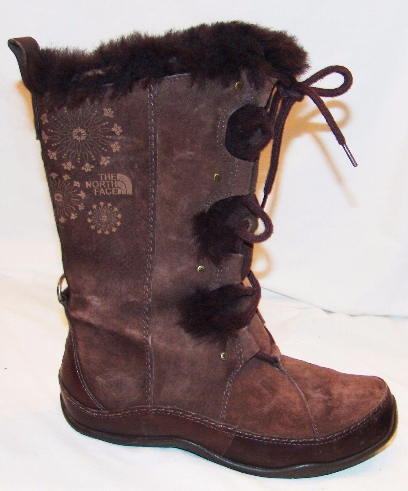 The North Face Braune Stiefel Stiefel Stiefel 6 Kunstpelz Primaloft Isoliert Innenfutter  | Angemessener Preis  77f0a5