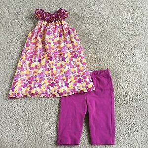 71bef8851ecbcb Lilly Wicket Baby Girls EUC 18 months Purple/yellow swing top ...