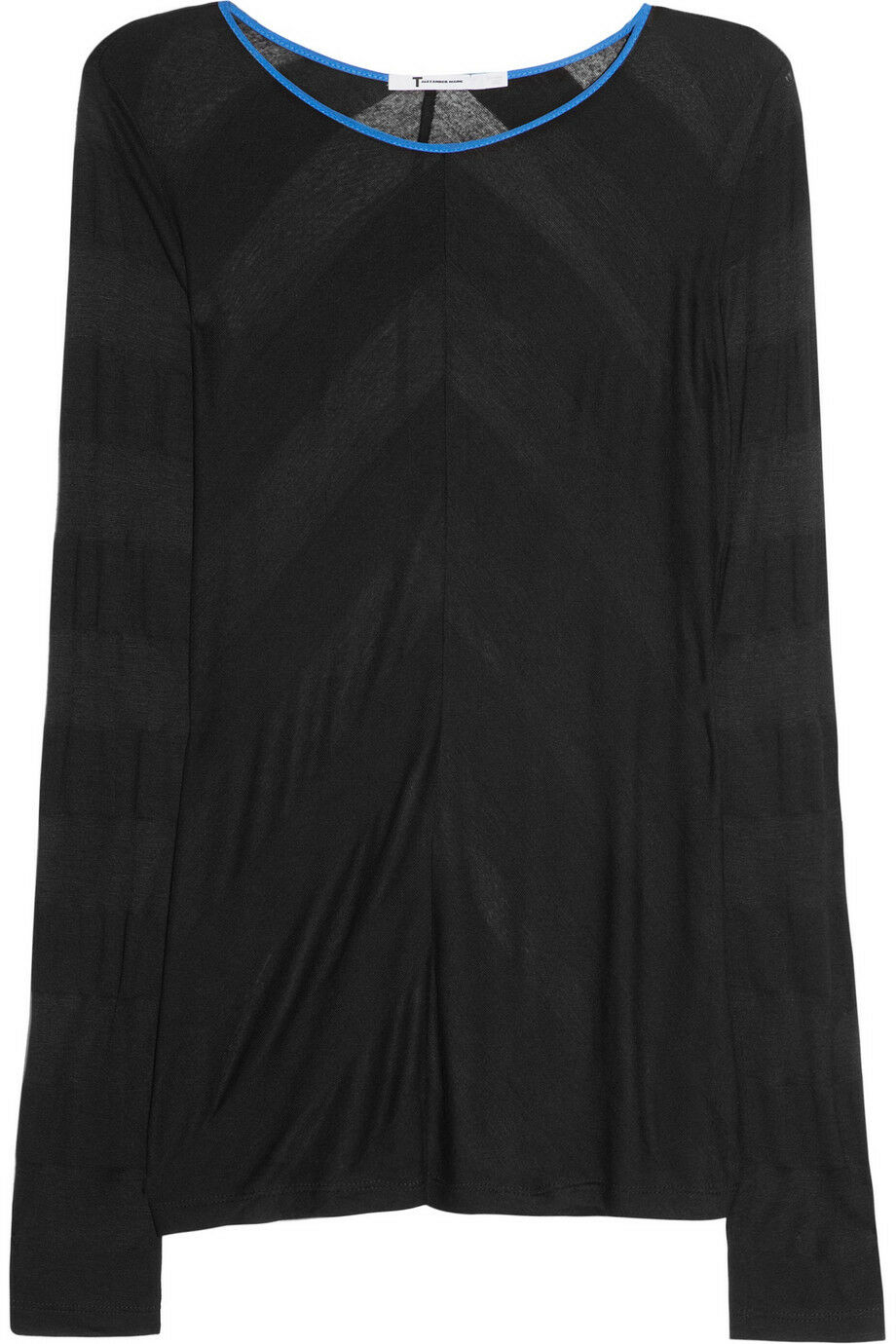BNWT T BY ALEXANDER WANG SHADOW STRIPED JERSEY TOP Sz XS