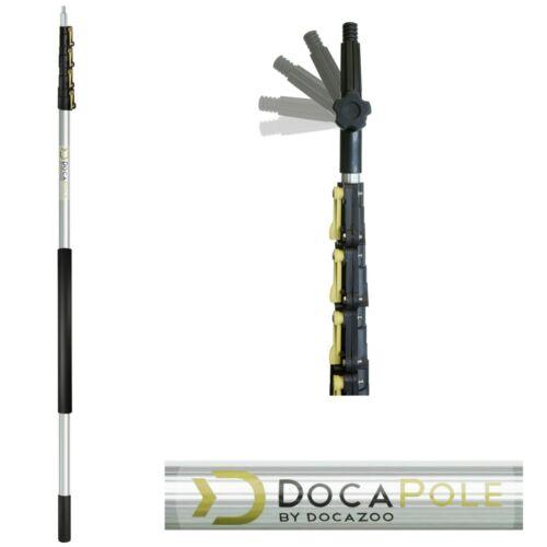 7m Extension Pole Telescopic Light Bulb Changer Duster Painters DocaPole 2m