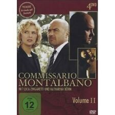 COMMISSARIO MONTALBANO VOL. II 4 DVD NEU