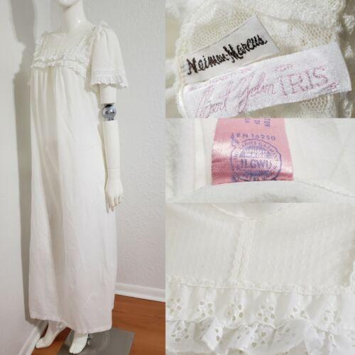 Vtg 70s Bert Yelin for Iris NM Medieval Nightdress