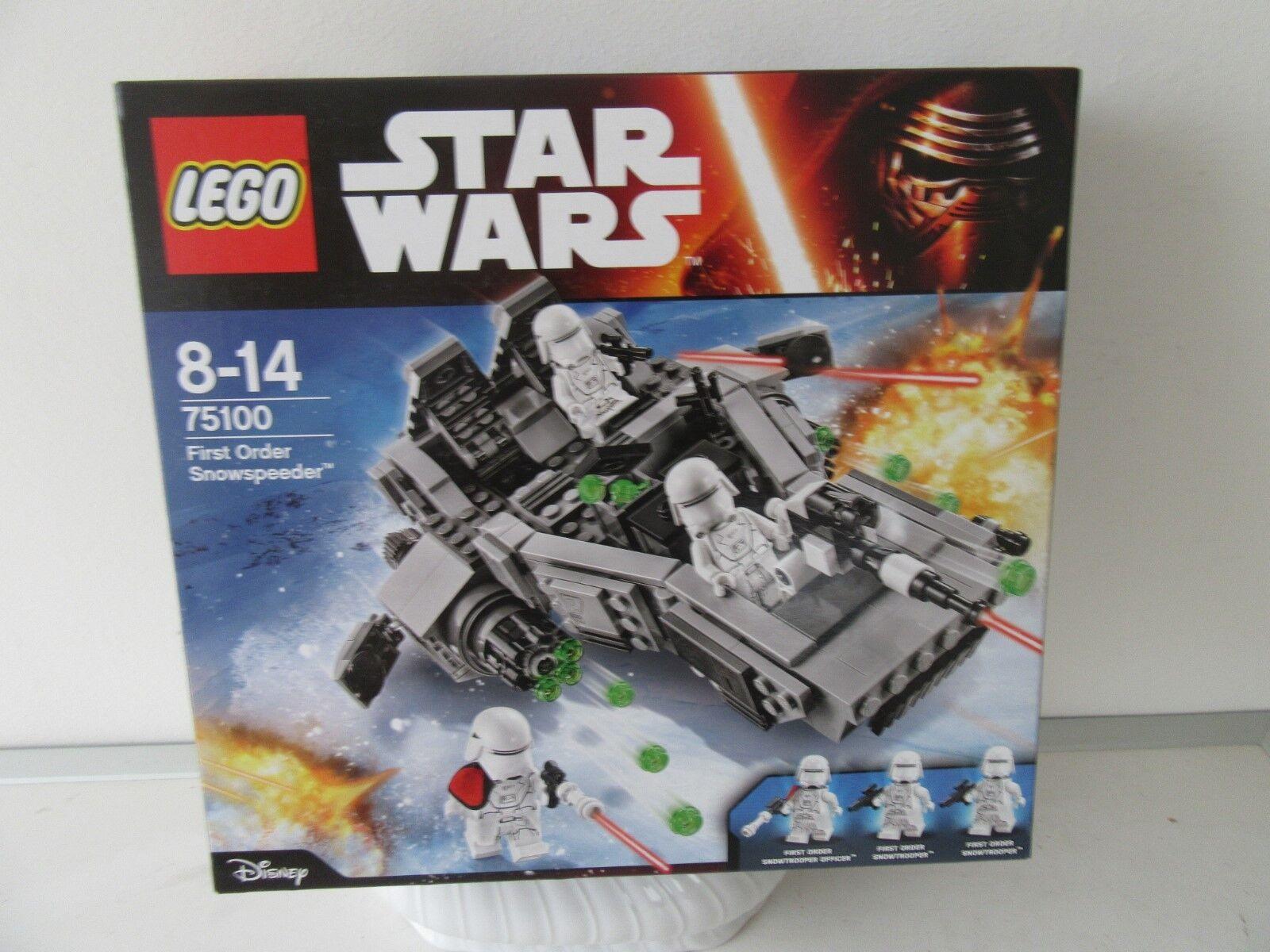 LEGO ®  Estrella wars 75100 First Order Snowspeeder.