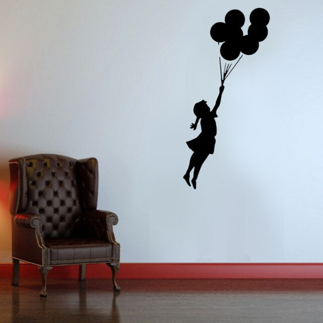 Banksy Flying Balloon Girl Reusable Stencil Wall Decor Painting Art Airbrush