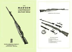 Madsen-Denmark-Lightweight-Military-Rifle-1952-Gun-Catalog