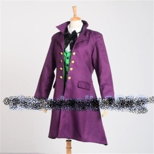 New Anime Black Butler Alois Trancy Cosplay Costume Set Uniform Complete Outfit