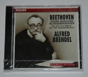 CD-SEALED-NEW-ALFRED-BRENDEL-BEETHOVENPIANO-SONATAS-81a-op106-Philips-446093-2
