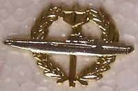 Large Hat Pin Submarine Wreath Jacket Epaulet