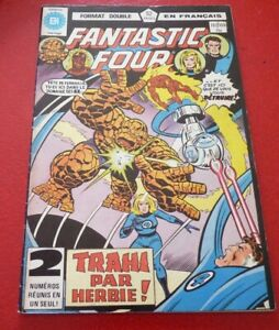 Soft-Cover-French-Heritage-Comic-Fantastic-Four-No-107-108