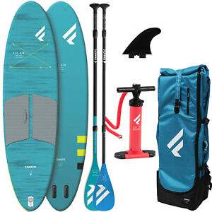 Fanatic Fly Air Pocket Paquet Set Sup Stand Up Paddle Planche Isup Gonflable