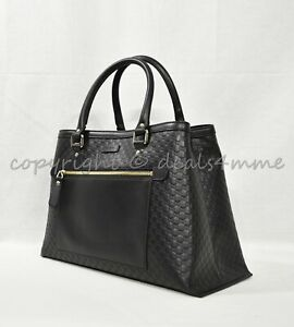 7c9524984c18 NWT Gucci Micro Guccissima Medium Top Handle Tote with Detachable ...
