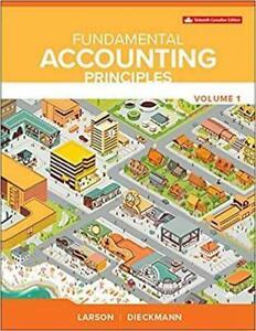 Fundamental Accounting Principles Vol 1 Canada Preview