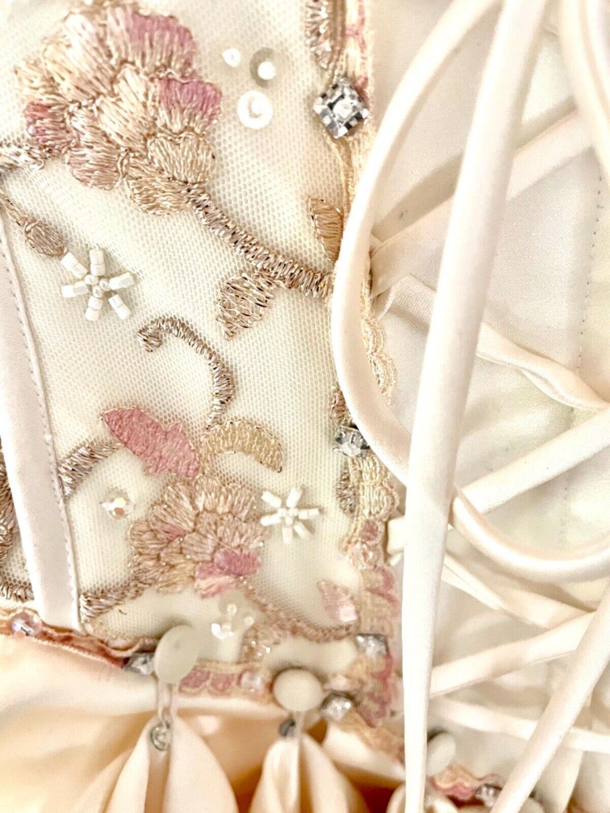French bustle, corset, vintage, Victorian, Swarov… - image 5