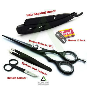 Professional-Barber-Salon-Kits-Hair-Dressing-Scissor-Hair-Shaving-Razors-Shear