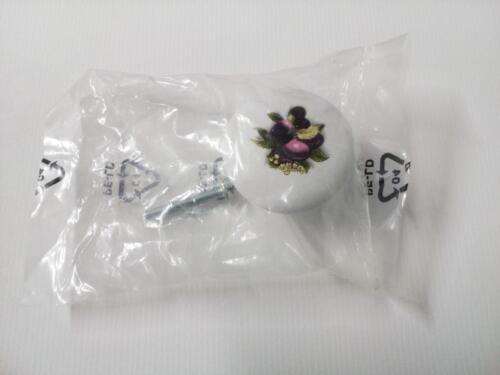 1 paire {B 70} boutons tiroir poignées Petite céramique résine porte d/'armoire