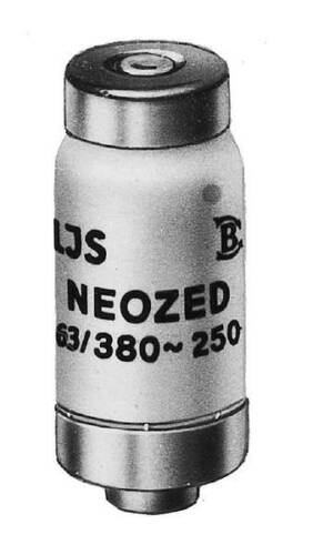 10 Stk Mersen D02 Neozed Sicherungseinsatz 63A 01701 01701.063000