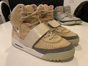 Premedicación Gran engaño Cromático  Nike Air Yeezy 1 sz 10, Tan Net Used Condition | eBay