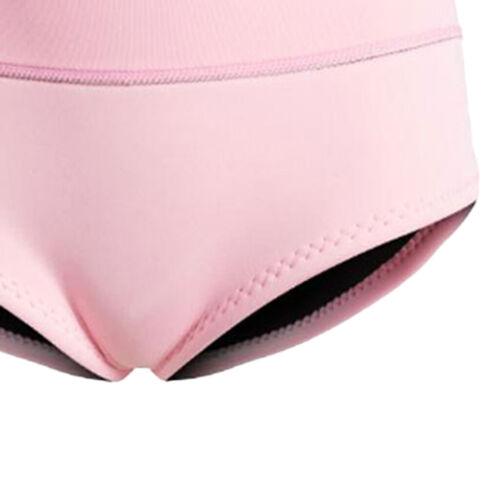 Damen Neopren Shorts Badehose Schwimmhose für Tauch Schnorchelanzug Rosa XL