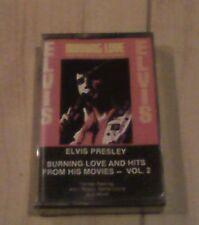 """ELVIS PRESLEY  """"Burning Love And Hits From His Movies-Vol.2"""" (Cassette,1985) NEW"""
