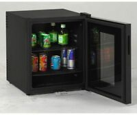 Bar Cooler Mini Fridge Freestanding Beverage Center Glass Display Door Portable