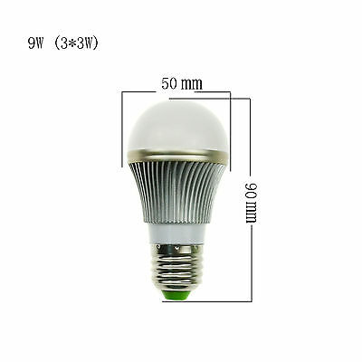 9W 15W 21W 27W 36W E27 Dimmable LED Globe Light Bulb Spot Lamp Warm Cool White