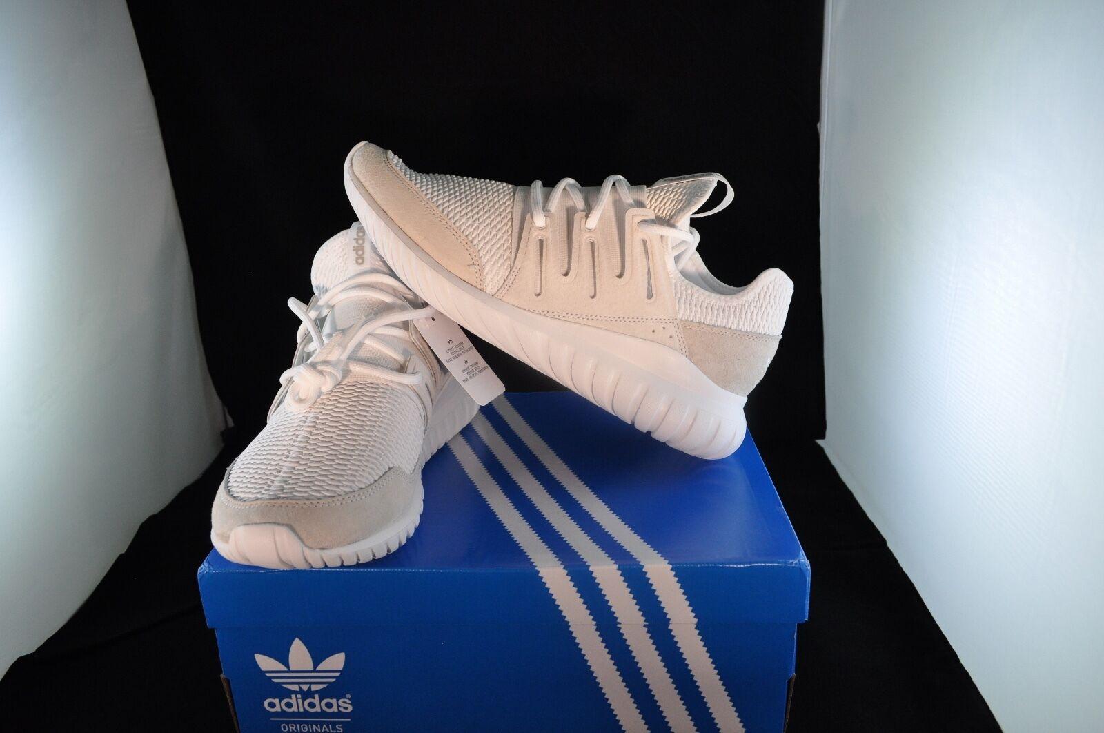 De adidas los nuevos hombres de adidas De Originals tubular running zapatillas - s76720 radial - blanco 9e08d0