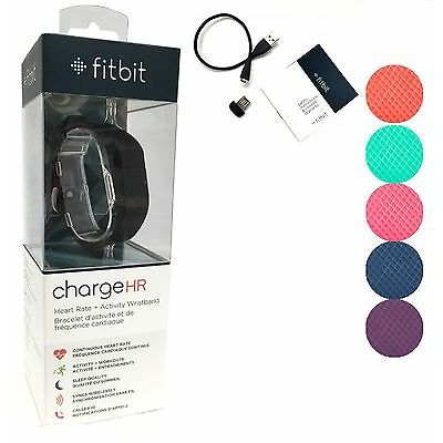 Fitbit Charge HR Activity, Heart Rate + Sleep Wristband SRF