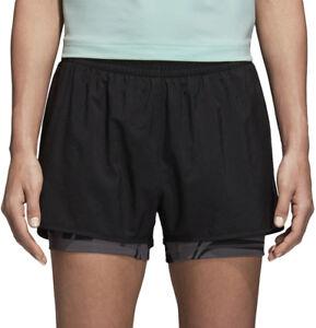 Adidas D2M 2 en 1 Femme Training Shorts-Noir-afficher le titre d`origine VsgYg2T3-07160745-975684668