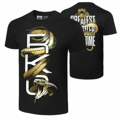 WWE Kids Randy Orton T-Shirt-Jeunes Garçons T Shirt-également Bracelets Chapeau Bonnet ect