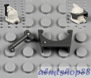 Minifig Black Helmet Floodlight for Helmet LEGO Star Wars