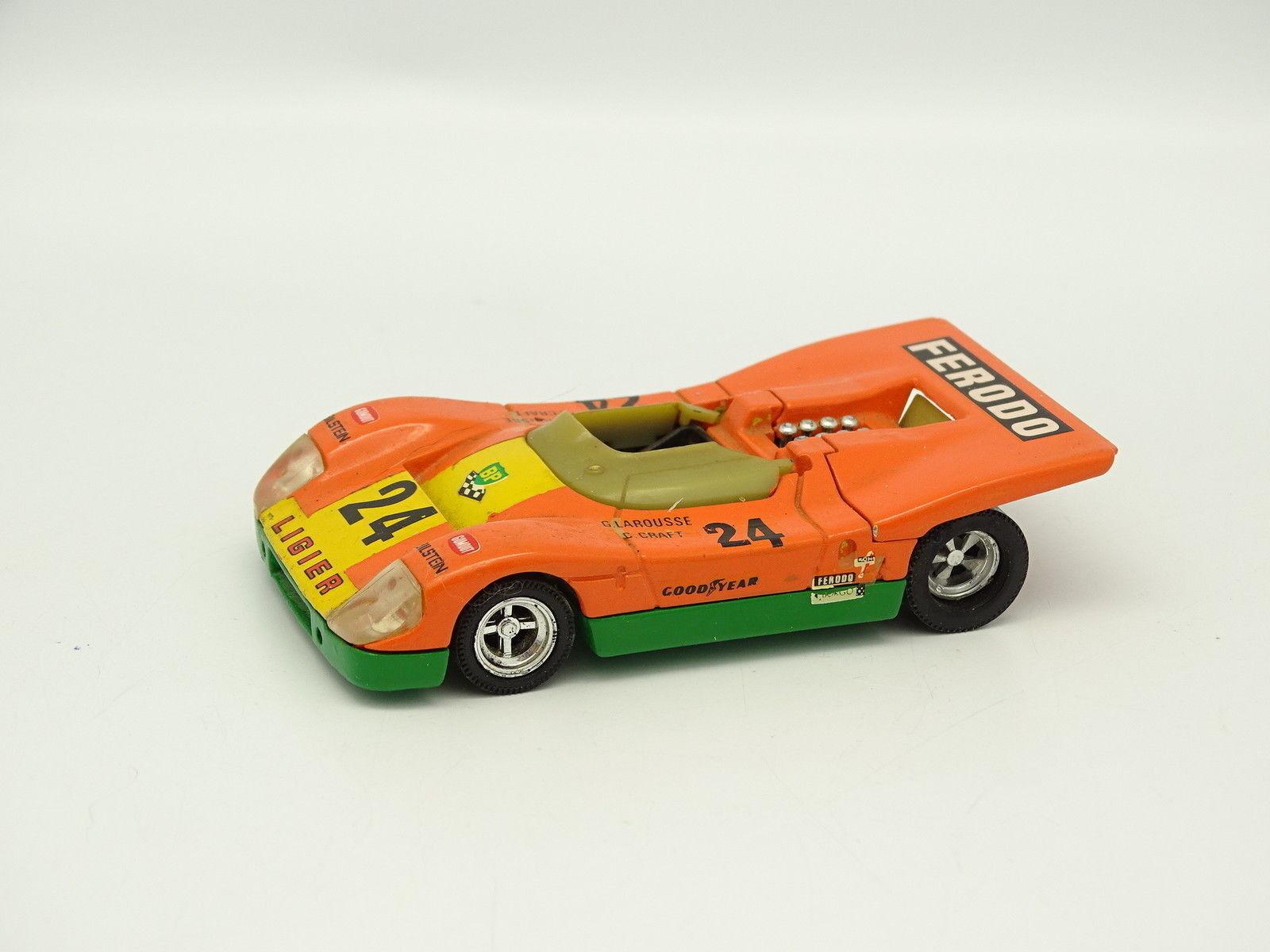 Solido SB 1 43 - Ligier JS3 Le Mans 1971 No.24 orange