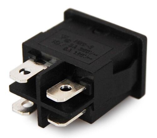 2 Schaltstellungen ON-OFF Miniatur Wippschalter Wippenschalter Mini Schalter