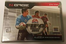 NEW FACTORY SEALED FIFA SOCCER 2005 GAME FOR NOKIA N-GAGE NGAGE N GAGE