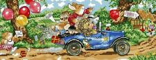 Country Companions Going To The Party B/W Cross Stitch Chart