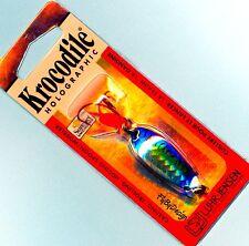 Luhr-Jensen Holographic Krocodile 3/16 oz Blue Mackerel SureSet Fishing Lure