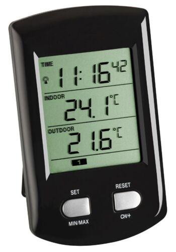 Funkthermometer tfa 30.3034.01 Black ratio-radio station météo sans fil-température