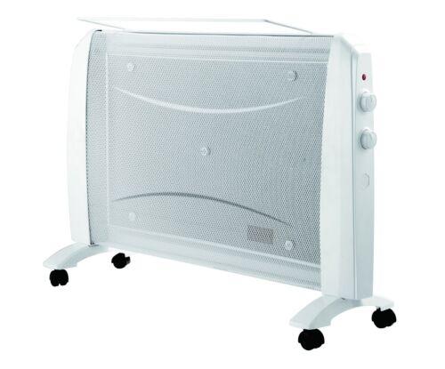 Chauffage radiateur panneau rayonnant 1500W mobile roulette PR1501