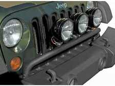 Lampenbügel auf Stoßstange schwarz Jeep Wrangler JK 07- Rugged Ridge 11232.20