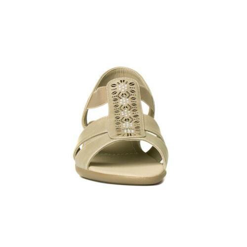 Dr Keller Femmes Beige Lacet Compensé Sandale Taille 7