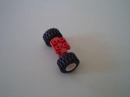 LEGO RUOTE WHEEL CON AMMORTIZZATORI AMMORTIZZATE (DIAMETRO PNEUMATICO 2 CM)