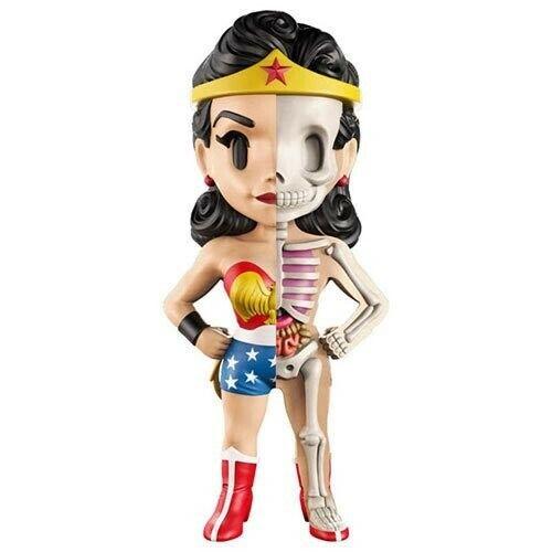 Anatomical Golden Age Wonder Woman XXRAY 4-Inch Vinyl Figure by Jason Freeny