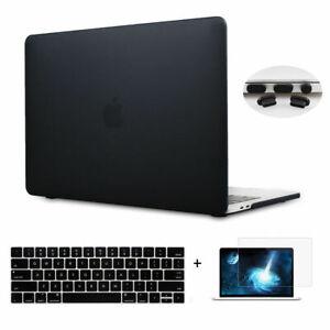 2018-A1932-MacBook-Air-13-11-Pro-13-15-034-Clear-Matte-Hard-Case-Retina-Touch-Bar