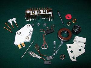 Alternator Rebuild Kit 78 /& 94 AMP Chevy Truck Pontiac Buick Olds GM 12 SI