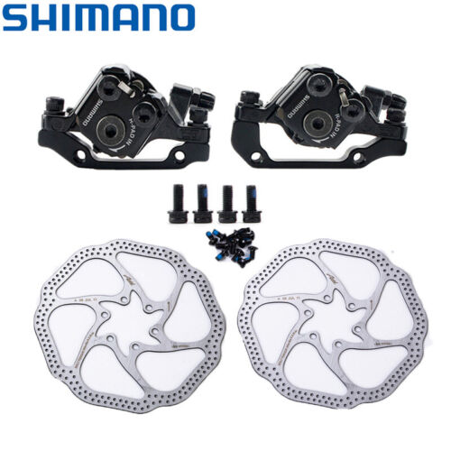 Details about  /Shimano Tourney TX805 Disc Brake Caliper w Resin Pads Front Rear Upgrade BR M375