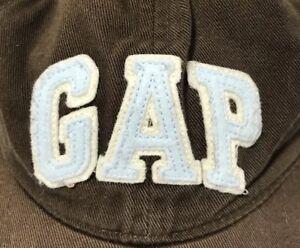 081cdcb754ae7 Image is loading Gap-Baby-Toddler-Boys-Brown-Baseball-Hat-Cap-